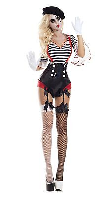 Party King Silent Mime Honey Womens Costume
