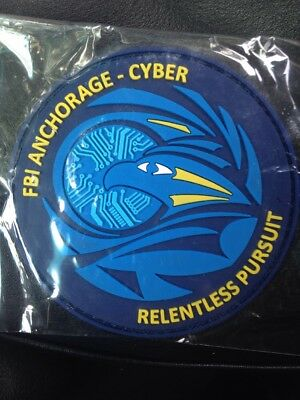 Very Rare FBI Anchorage - Cyber Relentless Pursuit Patch (New Sealed Package)