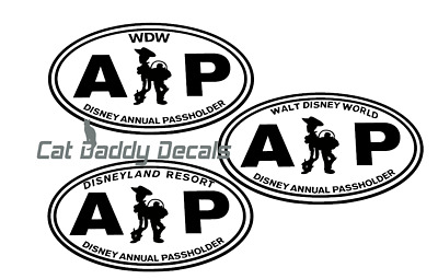 Toy Story Decal Disneyland Decal Disney World Decal Annual Passholder Decal AP