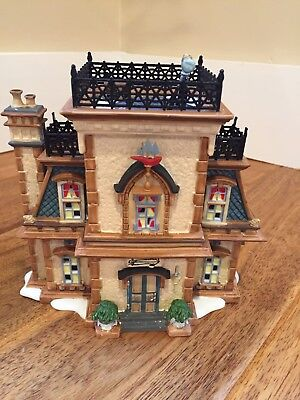 Dept 56 Dickens' Village Admiral's House, Queens Port Preowned. With Box.