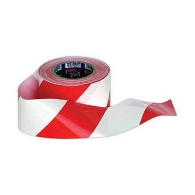 PRO CHOICE Barrier Tape Red/White 100m x 75mm (CARTON OF 20) | AUTHORISED DEALER