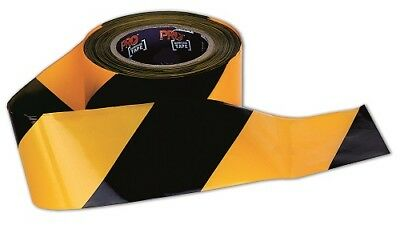PRO CHOICE Barrier Tape Yellow/Black 100m x 75mm (CARTON OF 20) | AUTH. DEALER
