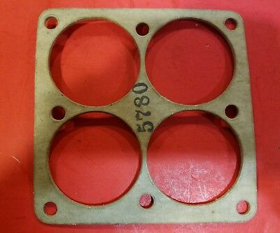 """Exhaust Collector Gaskets 4 into one square 2 1/16"""""""