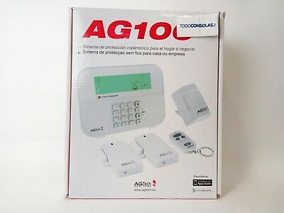 Kit Alarma Multizona AGTECH AG100+ Inalambrica Android/iOS N