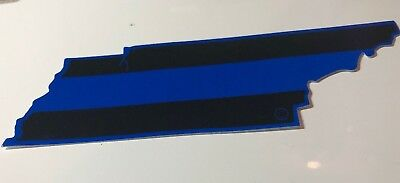 Tennessee State Blue Line Decal
