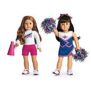 American Girl label 2 in 1 Cheer Gear Outfit Preowned