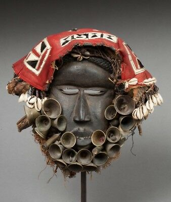 Authentic Dan / Guere mask, Ivory Coast, Ex. Pierre Robin collection