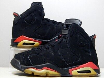 best service 757c7 07faa Nike Shoes - 2009 GS Youth Jordan 6 VI Varsity Red - Black Infrared - Size
