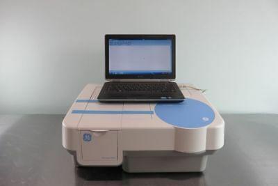 GE Ultrospec 8000 Double-Beam UV / Visible spectrophotometer with Laptop