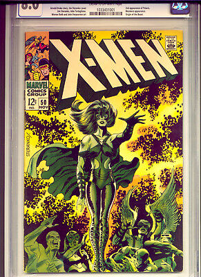The X-Men #50 CGC 8.0 Classic Steranko Cover - HOT Book!