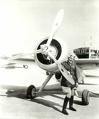 Lot Of 2: Roscue Turner &  Racing Airplanes Black & White Photographs