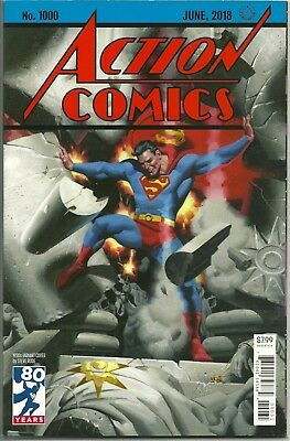 ACTION COMICS #1000! VF - NM!  STEVE RUDE '30s COVER!