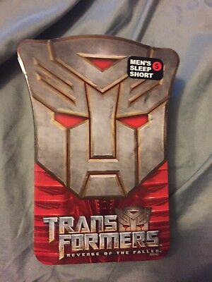 Transformers Revenge Of The Fallen Boxer Collector Tin JUST THE TIN
