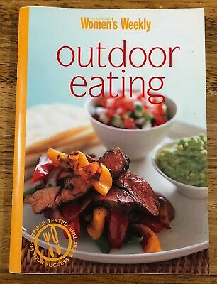 Womans Weekly Outdoor eating Mini Recipe Cook Book VGC Aussie Seller