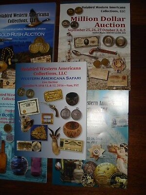 5 Holabird Western Americana Auction Catalogs All Brand New Condition!