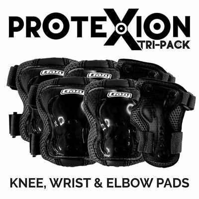 Crazy ProteXion Kids Tri-Pack (Knee, Wrist & Elbow Guards)
