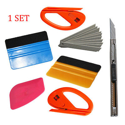 Car Vinyl Wrapping Tool 3M Squeegee Applicator Set Kit Window Tint Film Install