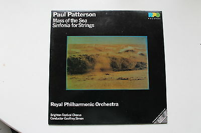 Vinyl LP:  Paul Patterson, Royal Philharmonic Orchestra ‎– Mass Of The Sea