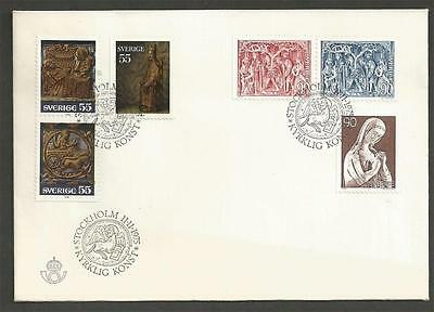 SWEDEN - 1975 Church Art    - FIRST DAY COVER