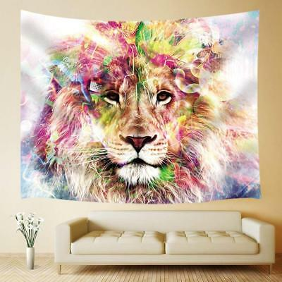 LION WILD ANIMAL Art Poster Canvas Picture Wall Home Bedroom