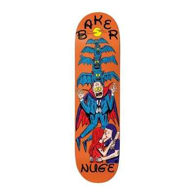 "Baker Skateboards Deck Nuge Ways To Die 8.25"" FREE GRIP"