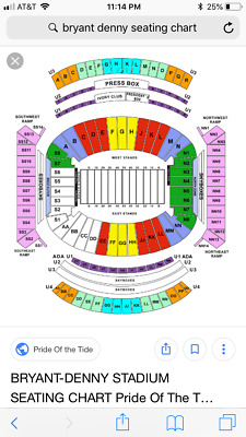 2 Alabama Vs Arkansas State Football Tickets Section N Row 35 North Lowers 82 99 Picclick