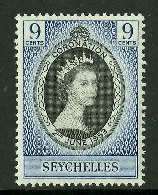 Seychelles  1953  Scott # 172  Mint Never Hinged Set