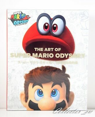 3 - 7 Days | The Art of Super Mario Odyssey Official Art Book + Case from JP