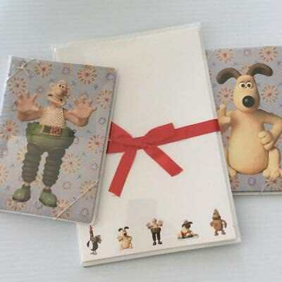 Wallace & Gromit Notecards Stationery featuring Shaun the Sheep Feathers McGraw