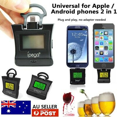 Police Breath Test Alcohol Tester Self Digital Analyzer Detector Breathalyser AU