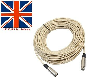 HOT XLR 3Pin Male-Female Microphone Console Audio Shielded Extension Cable LOT A