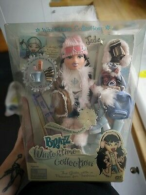 Bratz Wintertime Collection Jade doll with all accessories BNIB