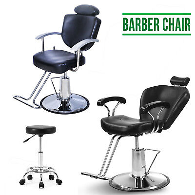 Leather Barber Chair Adjustable Reclining Shampoo Hairdressing & Salon Chair