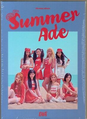 Dia - Summer Ade (4th Mini Album) CD+Photobook+Photocard+Sticker+Postcard Sealed