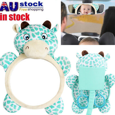 Baby Infant Child Car Safety Back Seat Mirror Rear Ward View Facing Mirror AU