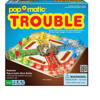New Classic Vintage 1965 Trouble Board Game