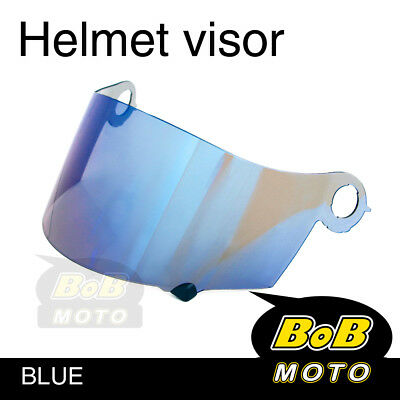 Aftermarket Suomy Blue Tinted Shield Helmet Visor Fit Spec 1R Extreme Apex