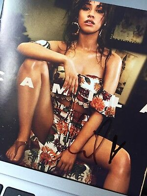 SIGNED AUTOGRAPHED Camila Cabello CD