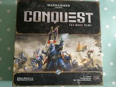 40k Conquest Core Set + 3 Warlord Packs