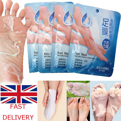 Exfoliating Peel Foot Socks Mask Soft Feet Hard Dead Skin Remove Callus Care DD