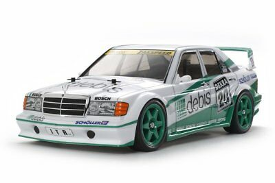 "Tamiya 1/10 RC MERCEDES-BENZ 190E ""DEBIS"" KIT 58656"