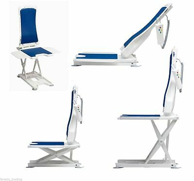 Bellavita bath lift lightweight and compact reclining mobility chair - demo