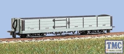 GR-230U Peco OO9 Narrow Gauge L&B 8 Ton Bogie Open Wagon Grey livery unlettered