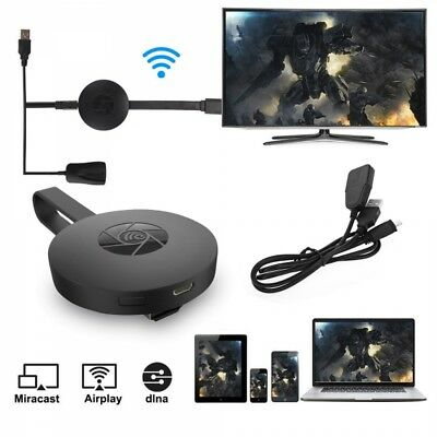 Chromecast 2 connette Smatrphone e Tablet alla TV Miracast Mirascreen