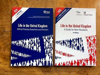 Life In The UK Official Test Handbook And Practice Questions And Answers 2018 BN