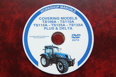 NEW HOLLAND NH TS100A, TS110A, TS115A, TS125A, TS135A Workshop Repair Manual
