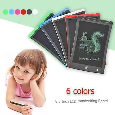 8.5'' Electronic Digital LCD Writing Tablet Kids Portable Graphics Drawing Pad
