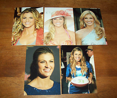 Five Sports Broadcaster  Erin Andrews 4x6 Pictures Lot 3