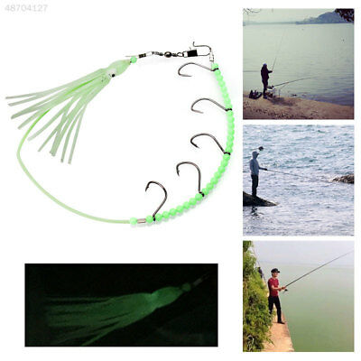 Salmon Hook Fishing Hook Portable Durable Practical Rubber Tools Lure