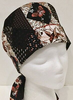 Pixie Medical Surgery OR Scrub Hat Chemo Cap